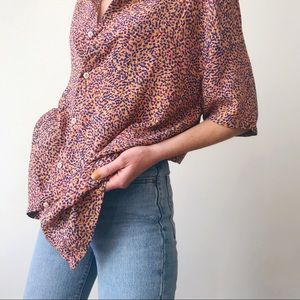 UOxBarney Cools • Holiday Short Sleeve-Pink Ditzi